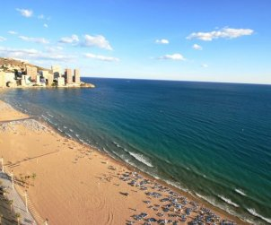 Flat   Benidorm 6 persons - parking in the property p0