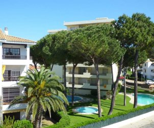 Appartement   à L'Escala pour 2 personnes avec piscine commune et procher mer p1