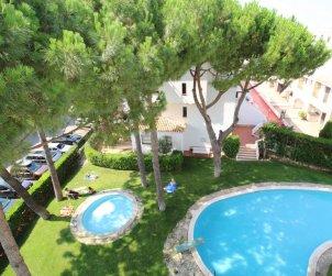 Appartement   à L'Escala pour 2 personnes avec piscine commune et procher mer p0