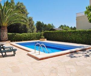 Villa   à Ametlla de Mar pour 7 personnes avec piscine privée et internet p1