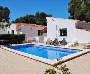 Villa   à Ametlla de Mar pour 7 personnes avec piscine privée et internet p0