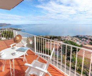 Villa   à Llançà pour 4 personnes avec belle vue mer p0