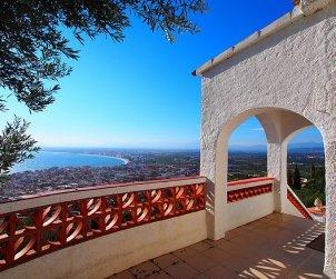 Villa   à Rosas pour 6 personnes avec belle vue mer p0