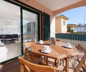 Appartement   à L'Escala pour 6 personnes avec piscine commune p0