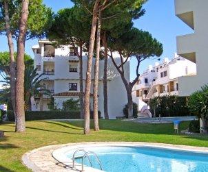 Appartement   à L'Escala pour 3 personnes avec piscine commune p0