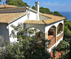 Flat   Begur 4 persons - panoramic to the sea p0