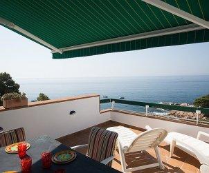 Appartement   à Tossa de Mar pour 7 personnes avec belle vue mer p0
