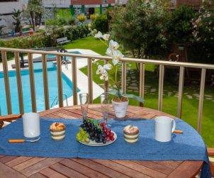Apartamento   Lloret del Mar para 4 personas con piscina comunitaria p0