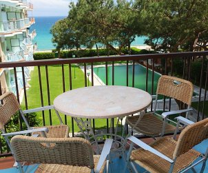 Flat   Blanes 5 persons - comunal pool p0