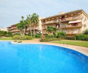 Appartement   à Sant Carles de la Rapita pour 4 personnes avec piscine commune p0