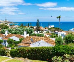 Villa   à Mijas pour 4 personnes avec piscine commune p1
