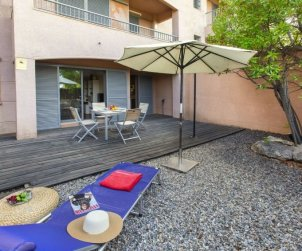 Flat   Ametlla de Mar 3 persons - comunal pool p0