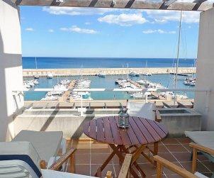 Appartement   à Ametlla de Mar pour 4 personnes avec belle vue mer p0