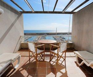 Appartement   à Ametlla de Mar pour 4 personnes avec belle vue mer p1