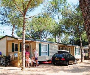 Camping Mobil-home   à Platja d'Aro pour 3 personnes avec piscine commune p1