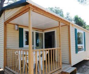 Camping Mobil-home   à Platja d'Aro pour 5 personnes avec piscine commune p2