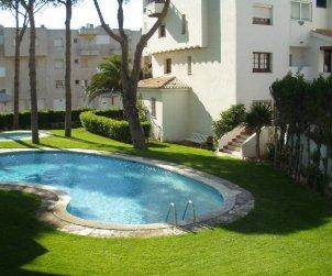 Appartement   à L'Escala pour 4 personnes avec piscine commune et climatisation p0