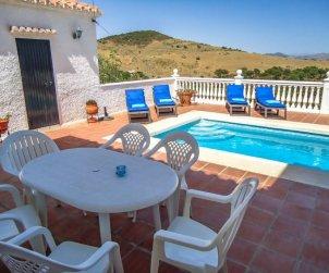 Villa   à La Axarquía - Almogía pour 6 personnes avec piscine privée p2