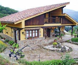 Villa   Potes para 4 personas con lavadora p0