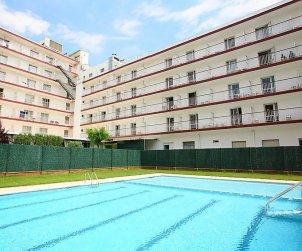 Appartement   à Malgrat de Mar pour 5 personnes avec piscine commune p1