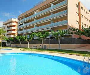 Appartement   à Salou pour 6 personnes avec piscine commune p0