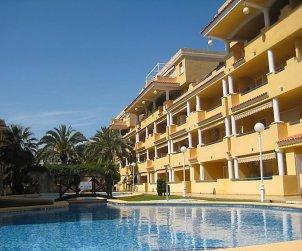 Apartamento   Denia para 4 personas con piscina comunitaria p1