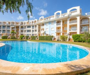 Appartement   à Denia pour 3 personnes avec piscine commune p0