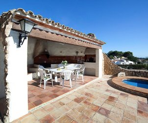 Villa   à Calpe pour 10 personnes avec piscine privée p2