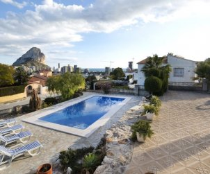 Villa   à Calpe pour 4 personnes avec lave-vaisselle p1