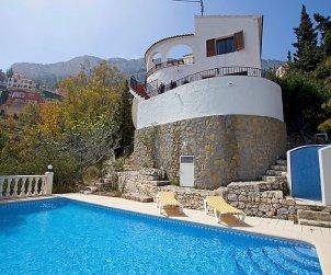 Villa   à Calpe pour 4 personnes avec piscine privée p2