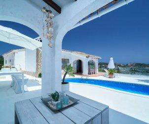 Villa   à Moraira pour 4 personnes avec piscine privée p0
