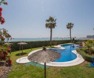 Appartement   à La Manga del Mar Menor pour 4 personnes avec piscine commune p2