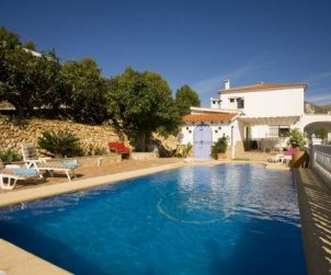 Villa   à Callosa d´En Sarria - Confrides pour 8 personnes avec piscine privée p0