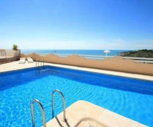 Appartement   à Peniscola pour 6 personnes avec piscine commune p0