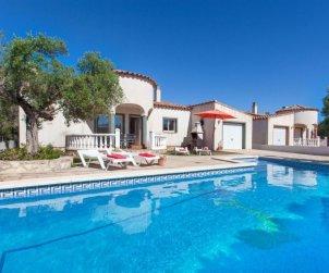 Villa   à Ametlla de Mar pour 9 personnes avec piscine privée p0