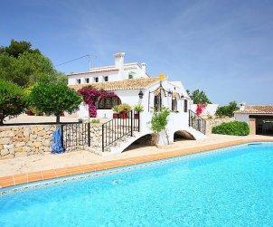 Villa   à Benissa pour 10 personnes avec piscine privée p0