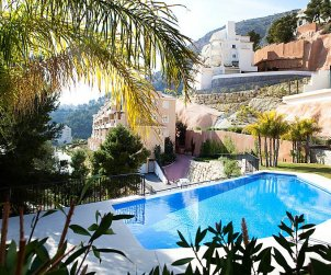 Flat   Altea 4 persons - comunal pool p0