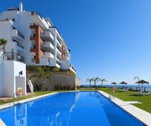 Appartement   à Torrox Costa pour 2 personnes avec piscine commune p2