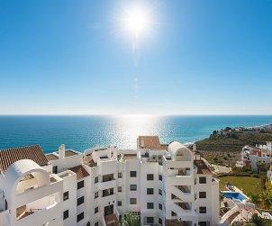 Apartamento   Torrox Costa para 4 personas con piscina comunitaria p0