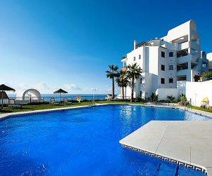 Apartamento   Torrox Costa para 6 personas con piscina comunitaria p1