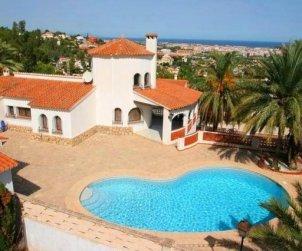 Villa   à Denia pour 10 personnes avec piscine privée p2