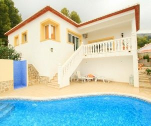 Villa   à Denia pour 4 personnes avec piscine privée p1
