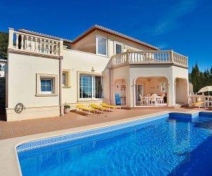 Appartement   à Moraira pour 4 personnes avec piscine privée p0