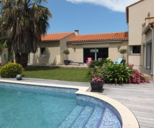 Villa   à Argelès sur Mer pour 8 personnes avec piscine privée p0