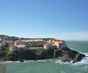 Appartement   à Collioure pour 4 personnes avec belle vue mer p0