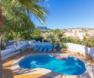 Villa   à Calpe pour 8 personnes avec piscine privée et climatisation p0