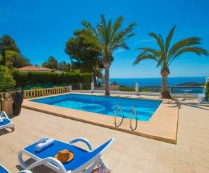 Villa   à Benissa pour 15 personnes avec piscine privée sécurisée, vue mer et Wifi p0
