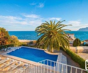 Villa   à Benissa pour 8 personnes avec piscine privée et belle vue mer p0
