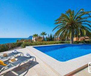 Villa   à Benissa pour 8 personnes avec piscine privée et belle vue mer p2