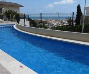 Appartement   à Peniscola pour 4 personnes avec piscine commune p1